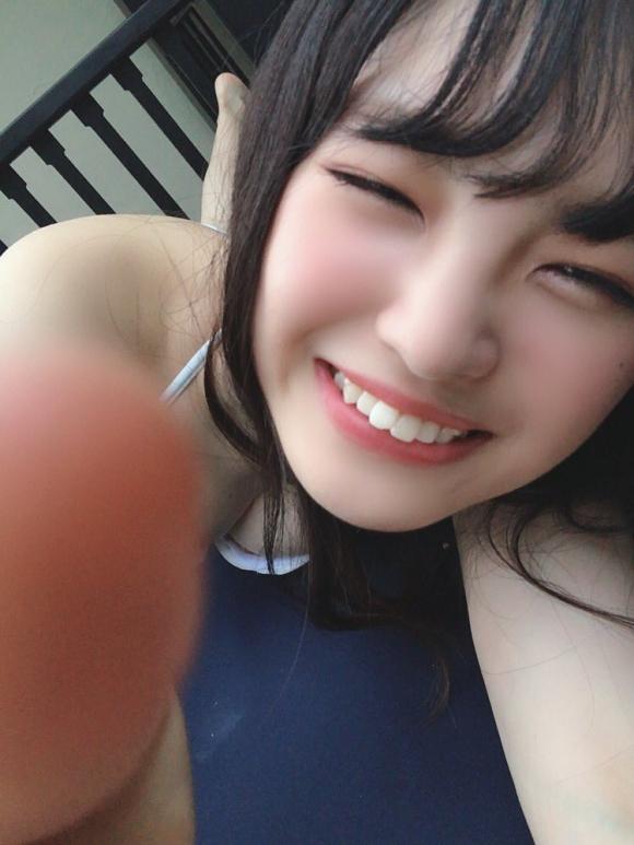 NMB48新澤菜央乳首2