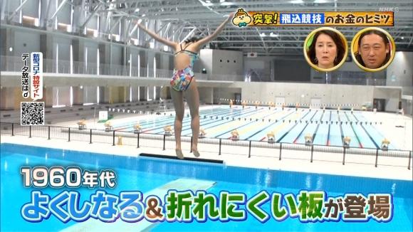競泳パイチラ2