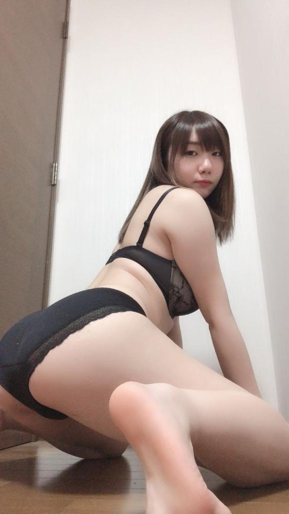 彼女パンツ性器写真3