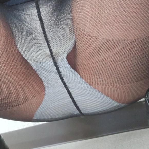 貧乳パンストOL12