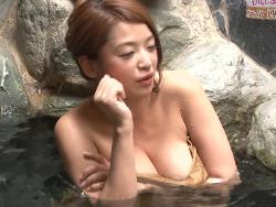 橋本マナミの番組で美巨乳グラドル西岡葉月の乳輪がはみ出る