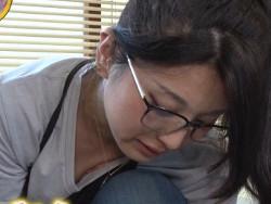 モデル職人大集合SPでモデル焼職人田村有紀のチクビが映るハプニング
