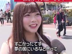 エロ乳輪のAV女優・羽咲みはる、日テレのニュースに一般人として映る